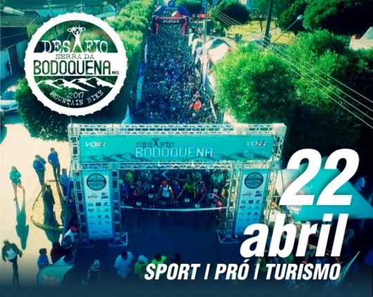 Desafio Serra da Bodoquena de Mountain Bike 2017