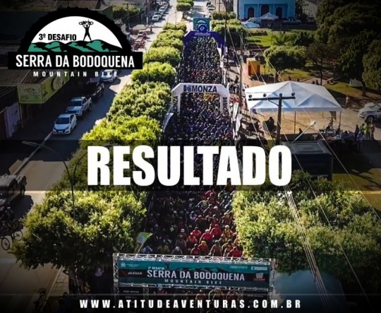 3º DESAFIO SERRA DA BODOQUENA