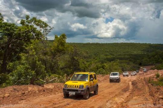 Expedição Estrada Parque de Piraputanga
